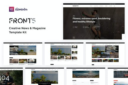 FrontFive - Creative News & Magazine Template Kit