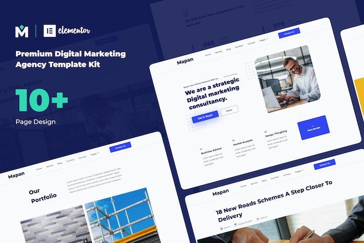 Mapan - Digitale Marketing-Template Kits