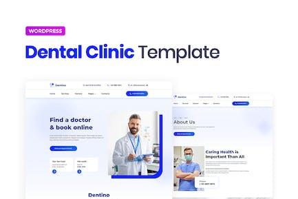 Dentino – Dental Clinic Template Kit