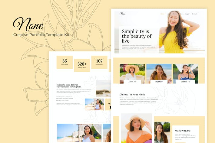 Thumbnail for None - Stylish Fashion Template Kit