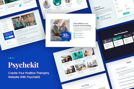PsycheKit - Kit de Template Kit Elemental Psicólogo y Hipnoterapia