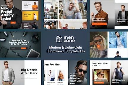 Menzone - Modern eCommerce Template Kit