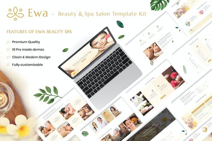 Thumbnail for Ewa - Beauty & Spa Salon Elementor Template Kit