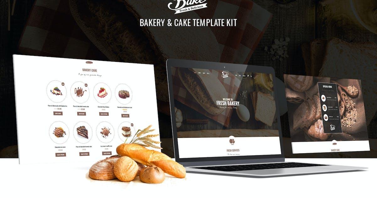 Download Bake - Bakery & Cake Elementor Template Kit by ArrowHiTech