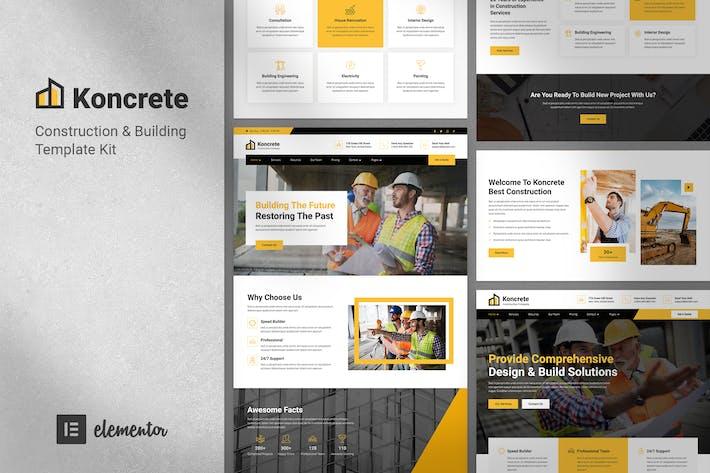 Thumbnail for Koncrete - Construction & Building Template Kit