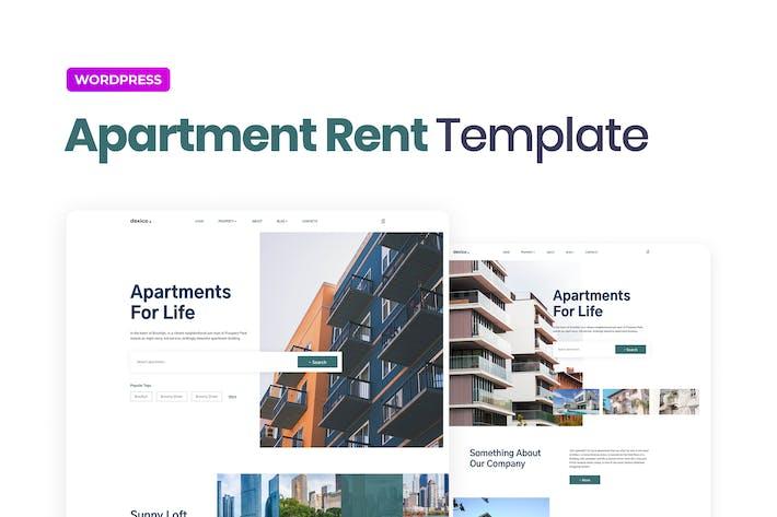 Dexico — Wohnung Miete Elementor Template Kit