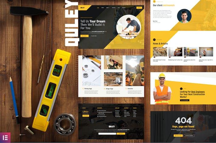 Quley - Bau- und IngenieurvorTemplate Kit