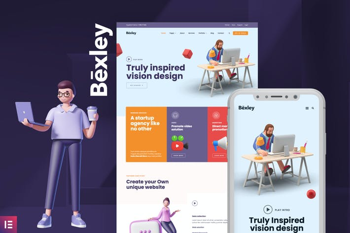 Bexley - Digital Marketing Agency Template Kit