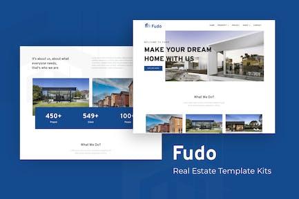 Fudo - Real Estate Elementor Template Kit