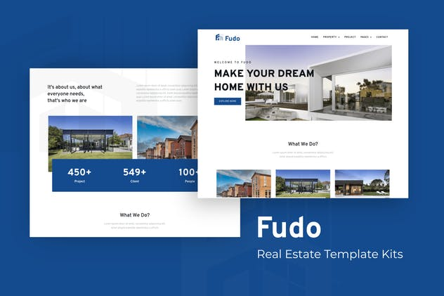 Fudo - Real Estate Elementor Template Kit