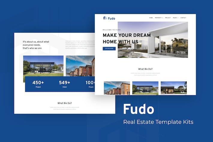 Fudo - Immobilien Elementor Template Kit