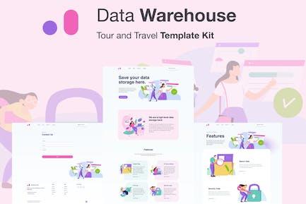 Stroranger - Data Warehouse Elementor Template Kit
