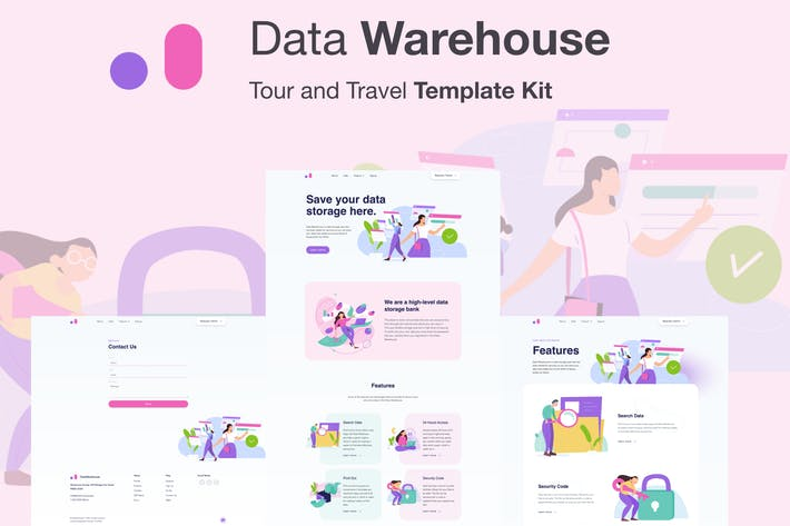 Stroranger - Data Warehouse Elementor Template Kit