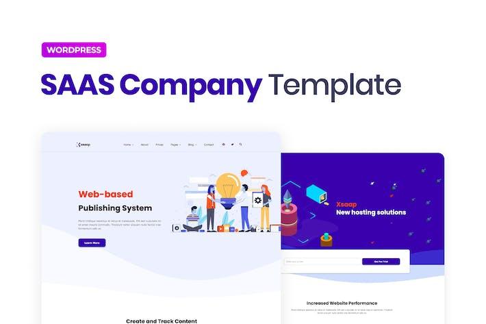 Xsapp — Template Kit de Elementor de Empresa SAAS