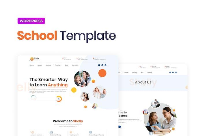Thumbnail for Shelly – School Template Kit for Elementor