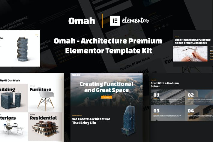 Thumbnail for Omah - Architecture Template Kit