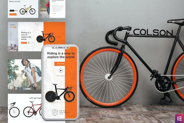 Colson — Fahrrad WooCommerce Elementor Template Kit
