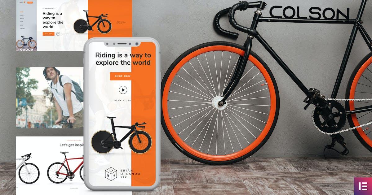 Download Colson – Bike WooCommerce Elementor Template Kit by deTheme