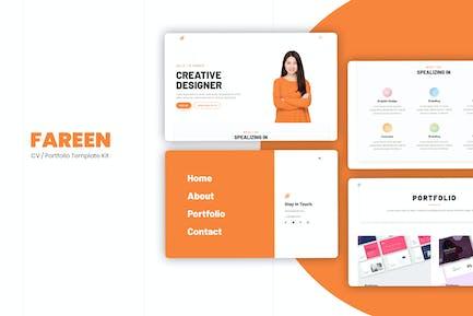 Farren - CV/Resume Elementor Template Kit