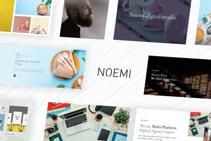 Noemi – Creative Agency & Portfolio Template Kit