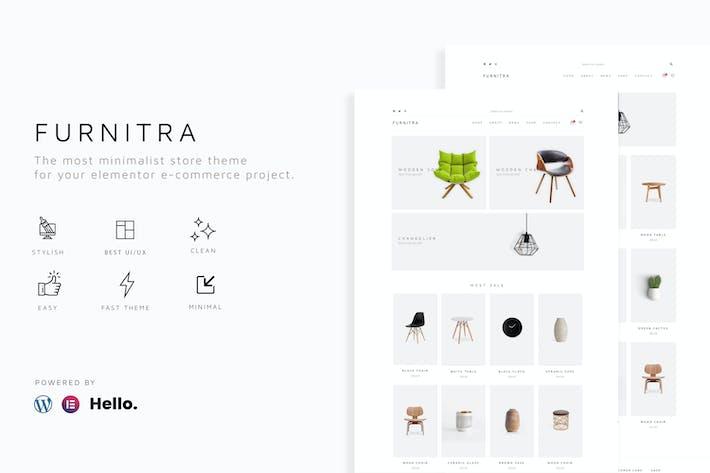 Thumbnail for Furnitra - Modernes eCommerce Elementor Template Kit
