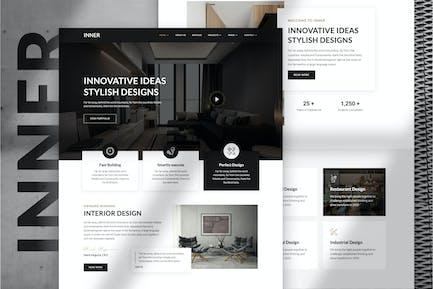 Intérieur — Template Kit de décoration d'intérieur et d'architecture
