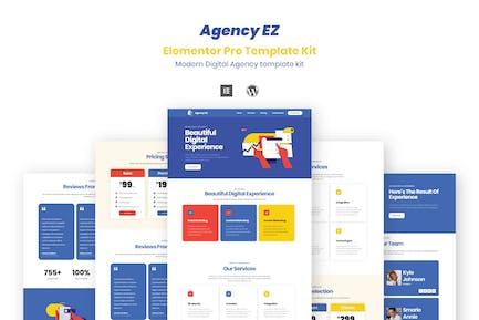 AgencyEz - Elementor Pro Template Kit
