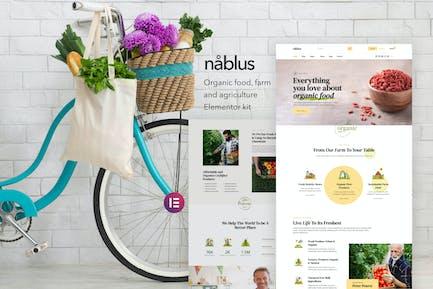 Nablus – Organic Food & Agriculture Template Kit