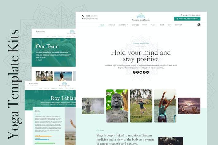 Namaste - Yoga & Fitness Elementor Template Kit