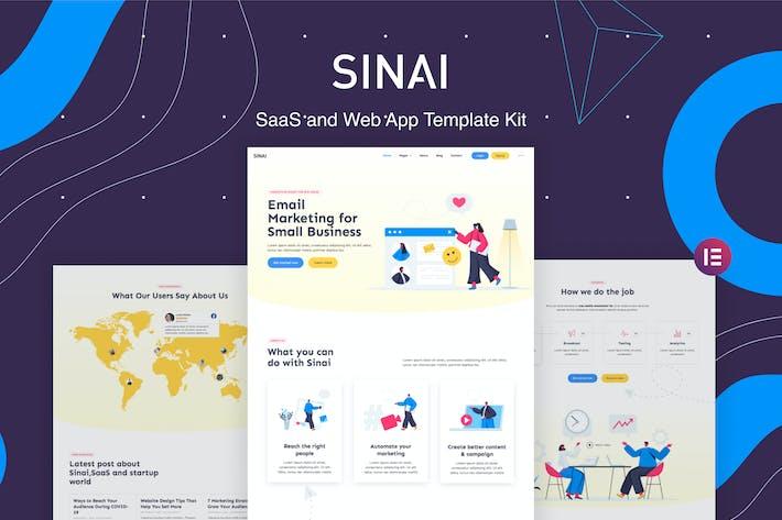 Sinai — SaaS y Template Kit de Aplicación web