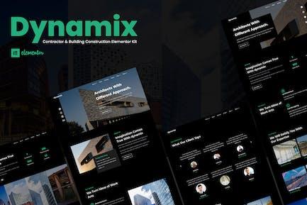 Dynamix - Template Kit d'élément d'architecture