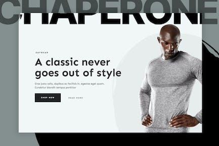 Chaperone — Moda Hombre WooCommerce Template Kit