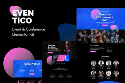Eventico - Event & Conference Elementor Kit