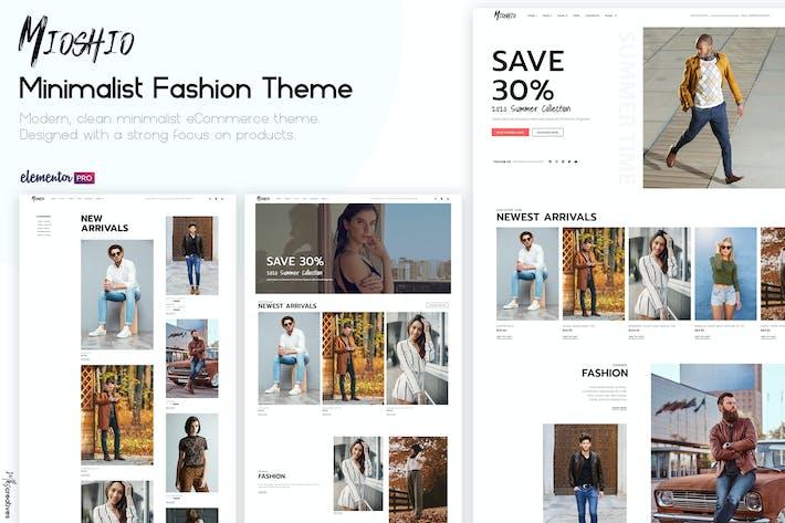 Mioshio - Moda eCommerce Elementor Template Kit