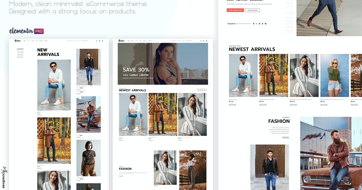 Download Mioshio - Fashion eCommerce Elementor Template Kit by MKSCreatives