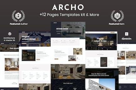 Archo - Template Kit d'architecture et d'intérieur