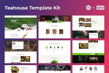 Tabit — Teehaus & Teegeschäft Elementor Template Kit
