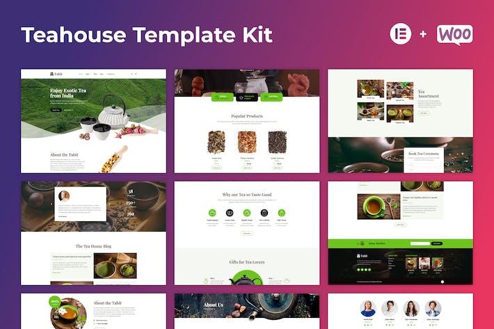 Thumbnail for Tabit — Teahouse & Tea Store Elementor Template Kit