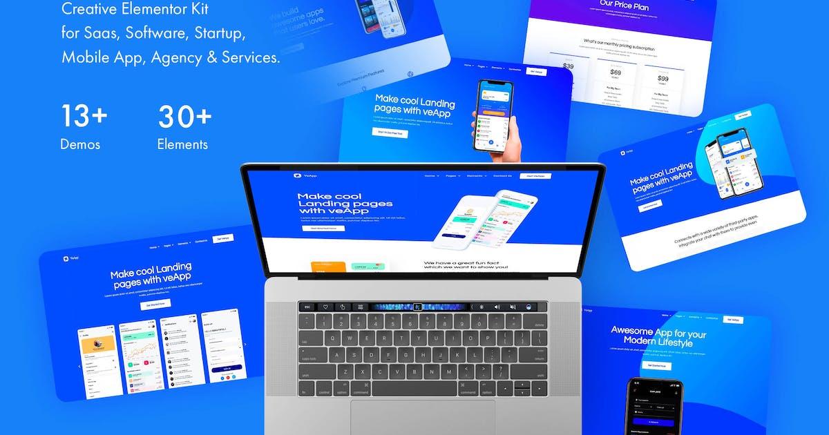 Download veApp - Mobile App & Startup Template Kit by Pixelshow