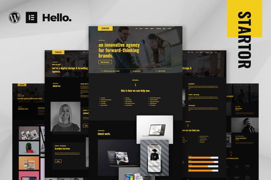 STARTOR - Agentur & Company Elementor Template Kit