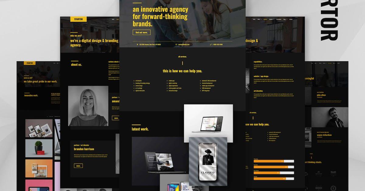 Download STARTOR - Agency & Company Elementor Template Kit by ideadriven