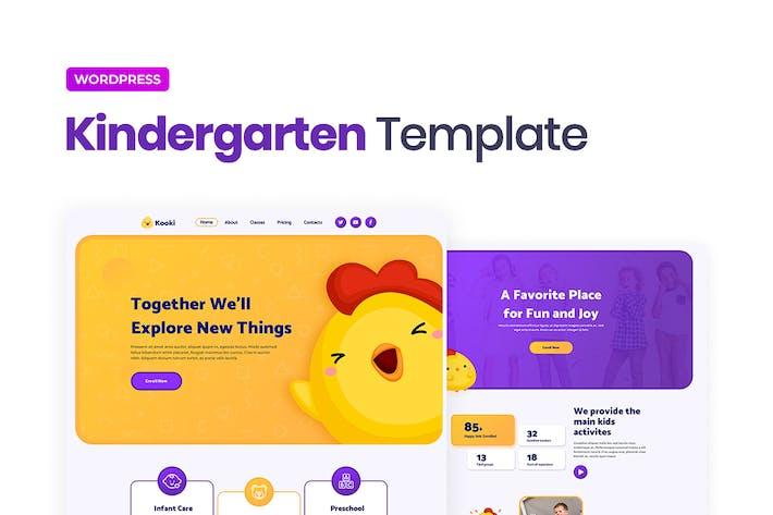 Thumbnail for Kooki — Kindergarten Elementor Template Kit