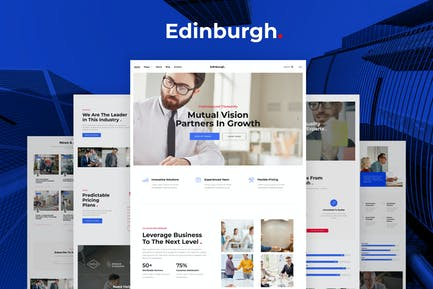 Edinburgh – Multipurpose Corporate Template Kit