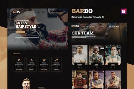 Bardo - Gentleman Barbershop Elementor Template Kit