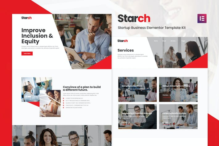Starch - Business Elementor Template Kit