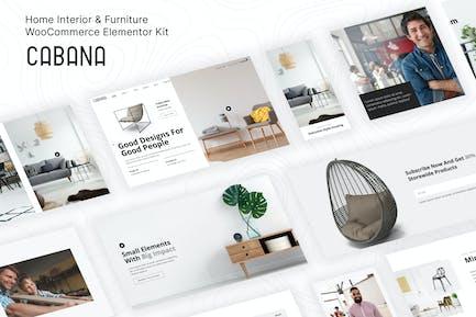 Cabana — Muebles WooCommerce Template Kit