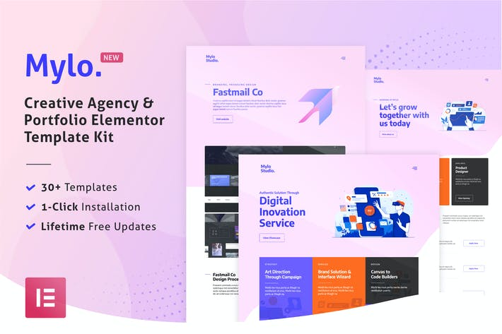 Thumbnail for Mylo - Creative Agency & Portfolio Template Kit