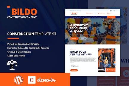 Bildo - Kit de gabarit élémentor de construction