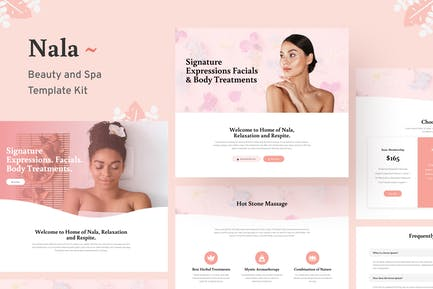 Nala - Beauty & Spa Template Kit