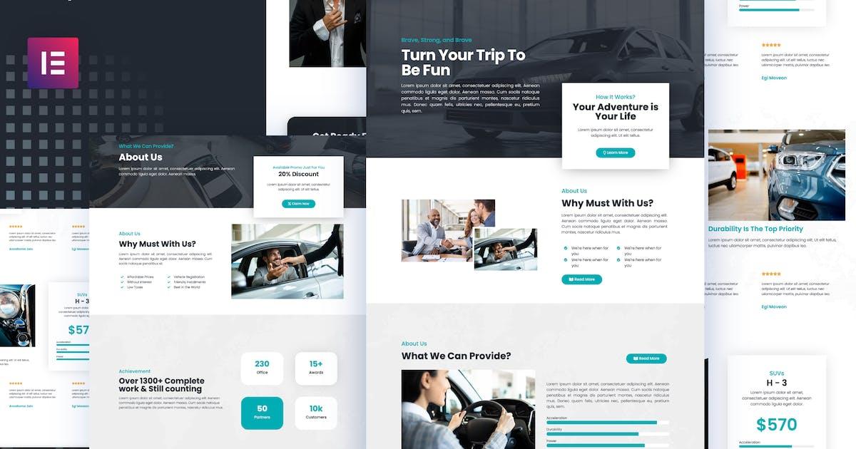 Download Kredok - Car Showroom Elementor Template Kit by portocraft